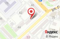 Схема проезда до компании Акцент в Рязани