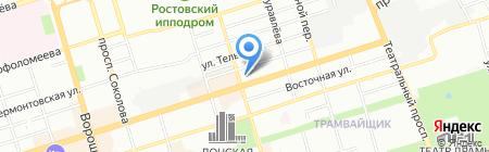 Банкомат Банк Петрокоммерц на карте Ростова-на-Дону