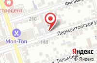 Схема проезда до компании IT Легион в Ростове-на-Дону