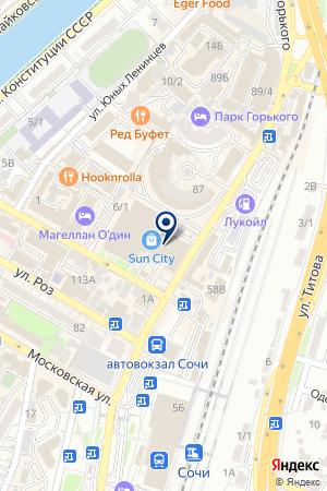 ПТФ АНКО на карте Сочи