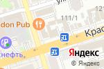 Схема проезда до компании Будь здоров в Ростове-на-Дону