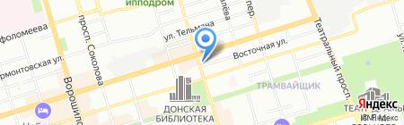 Чайхана на карте Ростова-на-Дону