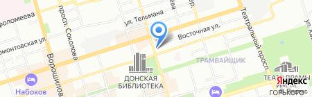 Климат-Центр на карте Ростова-на-Дону