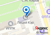 Центр КЭО на карте