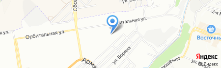 Златовласка на карте Ростова-на-Дону
