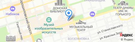 Элемент на карте Ростова-на-Дону