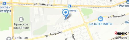 Единая Европа-Холдинг на карте Ростова-на-Дону