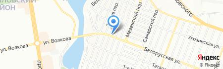 ПАРОВОЗ на карте Ростова-на-Дону