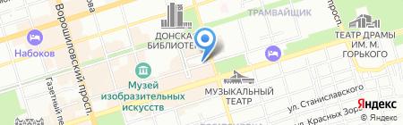 Специальная школа-интернат №48 для слабослышащих детей на карте Ростова-на-Дону