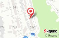 Схема проезда до компании Роллкомплект в Сочи