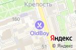 Схема проезда до компании Адвантаж в Ростове-на-Дону