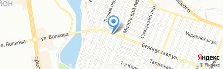 ТехноСтрой на карте Ростова-на-Дону