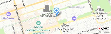 Бухгалтерская компания на карте Ростова-на-Дону