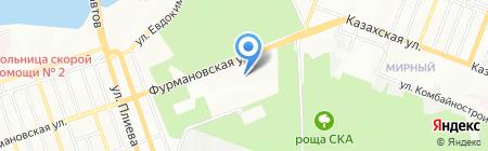 Терминал Банкомат КБ Кубань Кредит на карте Ростова-на-Дону