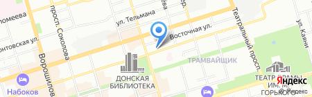 Бамбук на карте Ростова-на-Дону