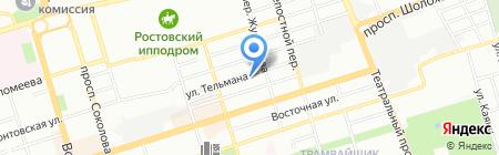 Фактор на карте Ростова-на-Дону