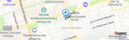 Здоровье 21 века на карте Ростова-на-Дону