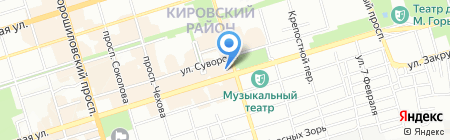Мега-Тур на карте Ростова-на-Дону