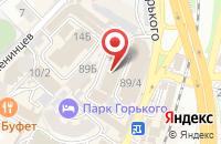 Схема проезда до компании Рпк «Новый Уровень» в Сочи