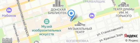 Русмедиа на карте Ростова-на-Дону