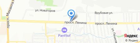 Км-Сервис на карте Ростова-на-Дону