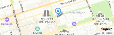 Сенд Тур на карте Ростова-на-Дону
