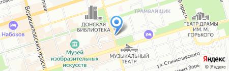 BUONO на карте Ростова-на-Дону