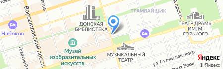 Банкомат БИНБАНК на карте Ростова-на-Дону
