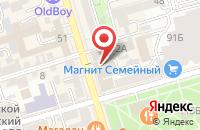 Схема проезда до компании Техснабкомплект в Ростове-На-Дону