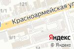 Схема проезда до компании Веселый цирюльник в Ростове-на-Дону