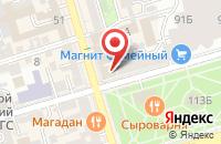 Схема проезда до компании Информационно-Издательский Центр «Арчак» в Ростове-На-Дону