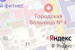 Схема проезда до компании Созидание в Ростове-на-Дону