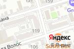 Схема проезда до компании Верные решения в Ростове-на-Дону