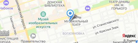 Роза Мирра на карте Ростова-на-Дону