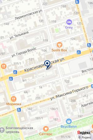 Интерьер-дизайн центр на карте Ростова-на-Дону