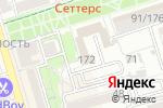 Схема проезда до компании Семейный квартал в Ростове-на-Дону