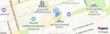 Покровский на карте Ростова-на-Дону