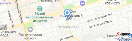 Ростовстройтермоизоляция на карте Ростова-на-Дону