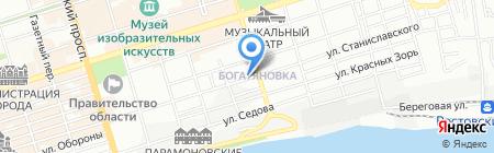 Нота Сердца на карте Ростова-на-Дону