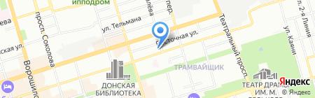 ОМ Сервис на карте Ростова-на-Дону