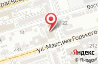 Схема проезда до компании Катюша в Ростове-На-Дону