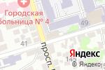 Схема проезда до компании Ростовский юридический центр в Ростове-на-Дону