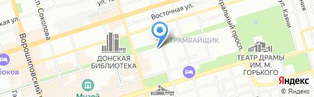 Рафаэлла на карте Ростова-на-Дону