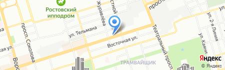 Kinder61.ru на карте Ростова-на-Дону