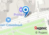 Астон на карте