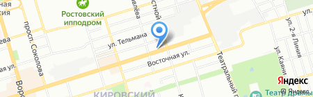 Турне Транс на карте Ростова-на-Дону