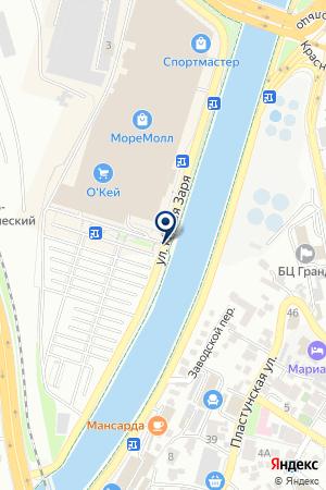 АЗС АНАСТАСИЯ на карте Сочи