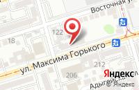Схема проезда до компании Гарант-Дон в Ростове-На-Дону