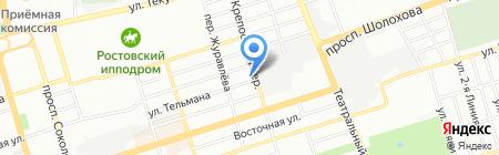 Союз-Энерго на карте Ростова-на-Дону