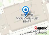 Ростовский государственный музыкальный театр на карте
